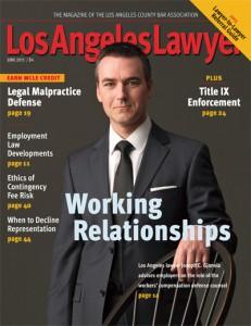 Los Angeles Lawyer June 2015
